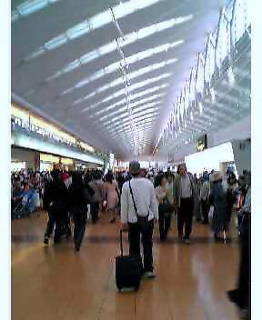羽田第二ターミナルに来ました